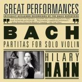 Album artwork for Bach: Partitas for Solo Violin / Hilary Hahn