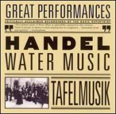 Album artwork for Handel: Water Music / Lamon, Tafelmusik
