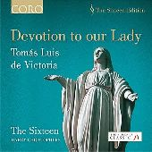 Album artwork for VICTORIA - DEVOTION TO OUR LADY / Sixteen