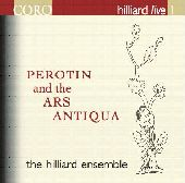 Album artwork for Hilliard Ensemble: Perotin and the Ars Antiqua