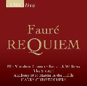 Album artwork for Faure: Requiem / The Sixteen, Christophers