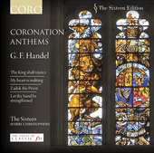Album artwork for Handel: Coronation Anthems / The Sixteen