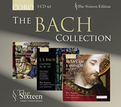 Album artwork for The Sixteen: The Bach Collection (5CD set)