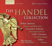 Album artwork for The Sixteen: The Handel Collection (12 CD set)