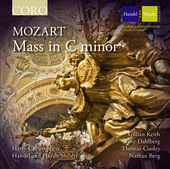 Album artwork for Mozart: Mass in C Minor / The Sixteen