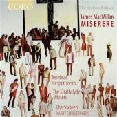 Album artwork for James MacMillan: Miserere / The Sixteen