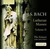 Album artwork for J.S. Bach: Lutheran Masses vol. 2 / Sixteen