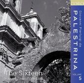 Album artwork for Palestrina Edition vol.5 / The Sixteen
