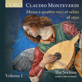 Album artwork for Monteverdi: Messa a quattro voci et salmi of 1650,