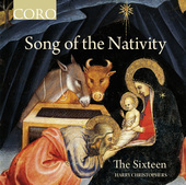 Album artwork for Songs of the Nativity / The Sixteen, Christophers