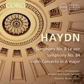 Album artwork for Haydn: Symphonies Nos. 8 & 84 - Violin Concerto No