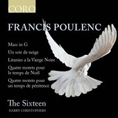 Album artwork for Poulenc: Mass in G - Un soir de neige - Litanies