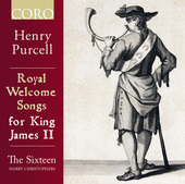 Album artwork for Royal Welcome Songs for King James II