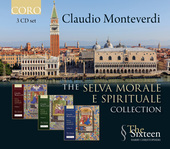 Album artwork for Monteverdi: Selva morale e spirituale, Vol. 1-3