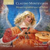 Album artwork for Monteverdi: Messa a quattro voci et salmi, Vol. 2