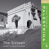 Album artwork for Palestrina vol. 8 / The Sixteen, Harry Christopher