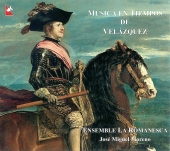 Album artwork for MUSICA EN TIEMPOS DE VELAZQUEZ - Ensemble Romanesc