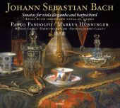 Album artwork for Bach: Sonatas for Viola da Gamba & Harpsichord