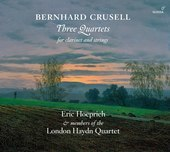 Album artwork for Crusell: 3 Quartets for Clarinet & Strings