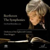 Album artwork for Beethoven: The Symphonies - Live from Rotterdam