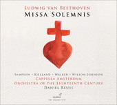 Album artwork for Beethoven: Missa solemnis, Op. 123