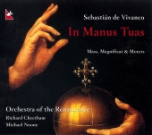 Album artwork for de Vivanco: In Manus Tuas
