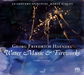 Album artwork for Handel: WATER MUSIC & Royal Fireworks