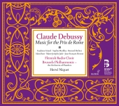 Album artwork for Debussy: Music for the Prix de Rome