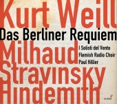 Album artwork for Kurt Weill: Das Berliner Requiem / Hillier