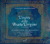 Album artwork for Monteverdi: Vespro della Beata Vergine