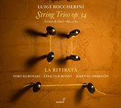 Album artwork for Boccherini: String Trios, Op. 34
