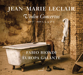 Album artwork for Leclair: Violin Concertos, Op. 7 Nos. 1, 3, 4 & 5