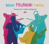 Album artwork for Paganini: Sonatas for Violin & Guitar