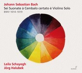 Album artwork for Bach: Sonatas for Violin and Harpsichhord
