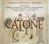 Album artwork for Handel: Catone, HWV A7
