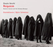 Album artwork for Vecchi: Requiem – Rubens's Funeral & The Antwerp