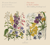 Album artwork for Flute music by Bach's students