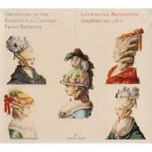 Album artwork for Beethoven: Symphonies 5 & 6 / Bruggen
