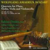 Album artwork for Mozart: Quartets for Flute, Violin, Viola and Cell