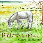 Album artwork for Castelnuovo-Tedesco: Platero y yo, Op. 190