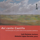 Album artwork for Así canta Castilla