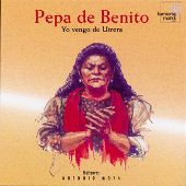 Album artwork for PEPA DE BENITO