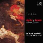 Album artwork for LITERES: JUPITER Y SEMELE