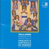 Album artwork for VILLA-LOBOS: SINFONIA NO.10