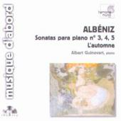 Album artwork for ALBENIZ: PIANO SONATAS