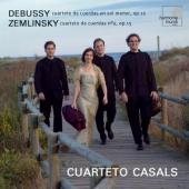 Album artwork for DEBUSSY AND ZEMLINSKY: STRING QUARTETS