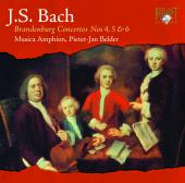 Album artwork for BRANDENBURG CONCERTOS 4 - 6