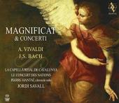 Album artwork for Vivaldi & Bach: Magnificats and Concerti