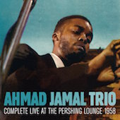 Album artwork for Ahmad Jamal: Live at the Pershing 1958