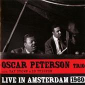 Album artwork for Oscar Peterson Trio: Live in Amsterdam 1960